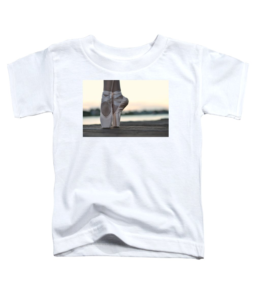 Dancer Toddler T-Shirt featuring the photograph Sylph by Laura Fasulo