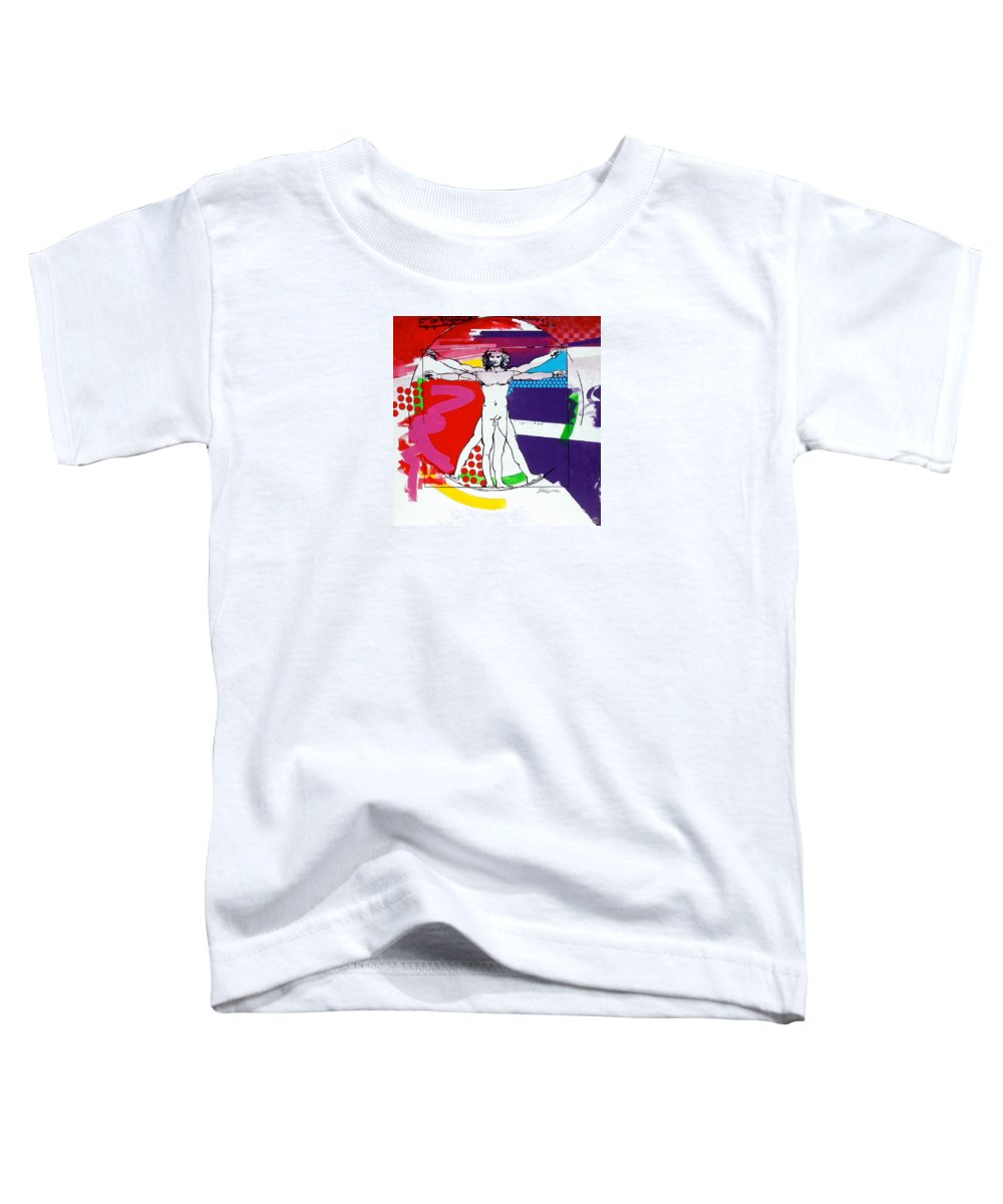 Classic Toddler T-Shirt featuring the painting Vetruvian by Jean Pierre Rousselet