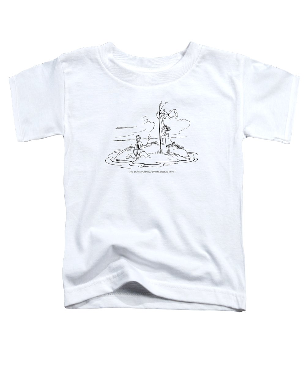 Desert Island Drawings Toddler T-Shirts