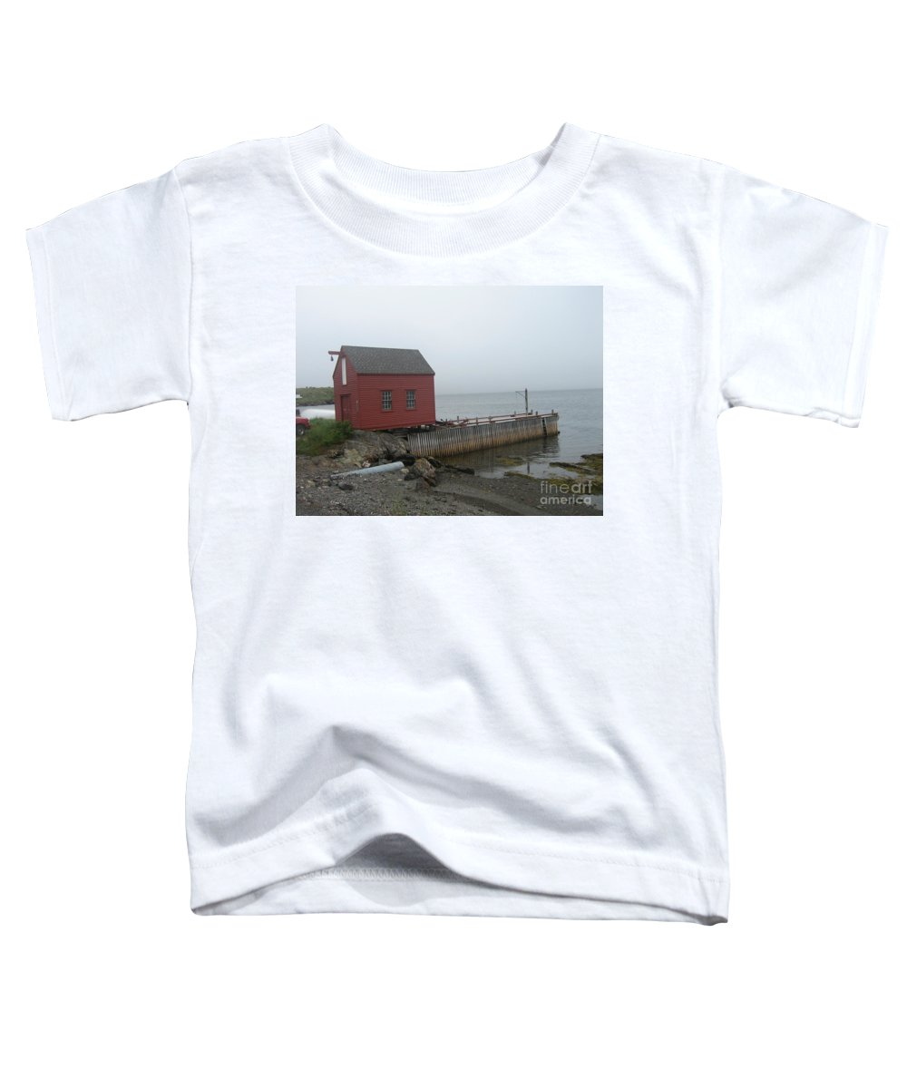 Photograph Bonavista Island Atlantic Ocean Newfoundland Toddler T-Shirt featuring the photograph Bonavista by Seon-Jeong Kim