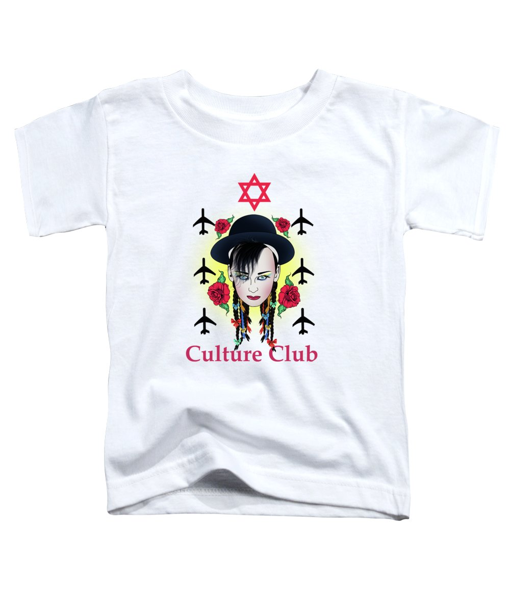Boy George Toddler T-Shirt featuring the photograph Boy George by Mark Ashkenazi