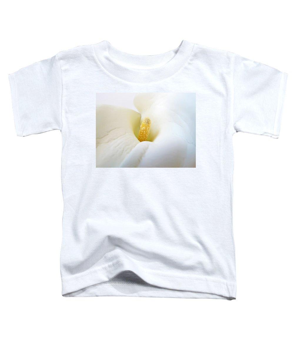Flower Toddler T-Shirt featuring the photograph Calla by Daniel Csoka