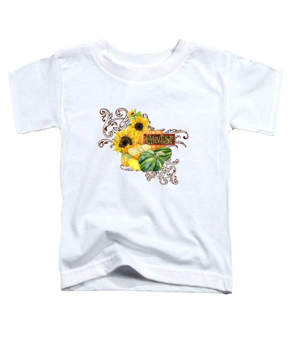 Sunflowers Toddler T-Shirts