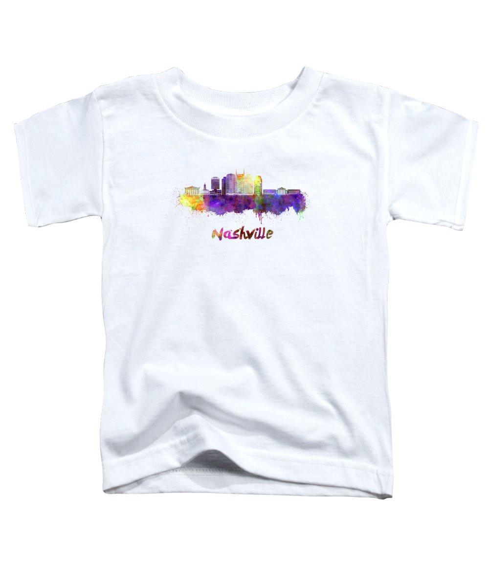 Nashville Skyline Toddler T-Shirts