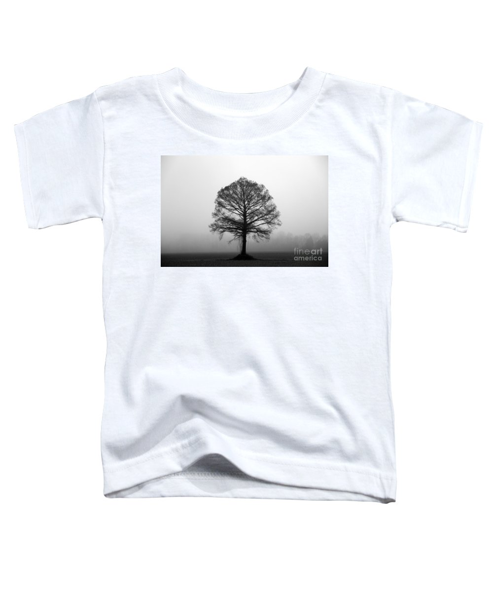 Tree Toddler T-Shirt featuring the photograph The Tree by Amanda Barcon