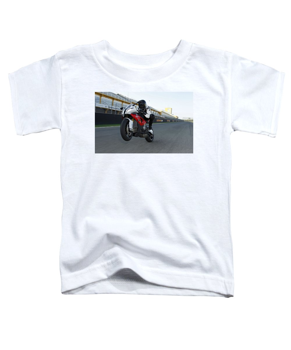 Bmw Toddler T-Shirt featuring the digital art BMW by Super Lovely