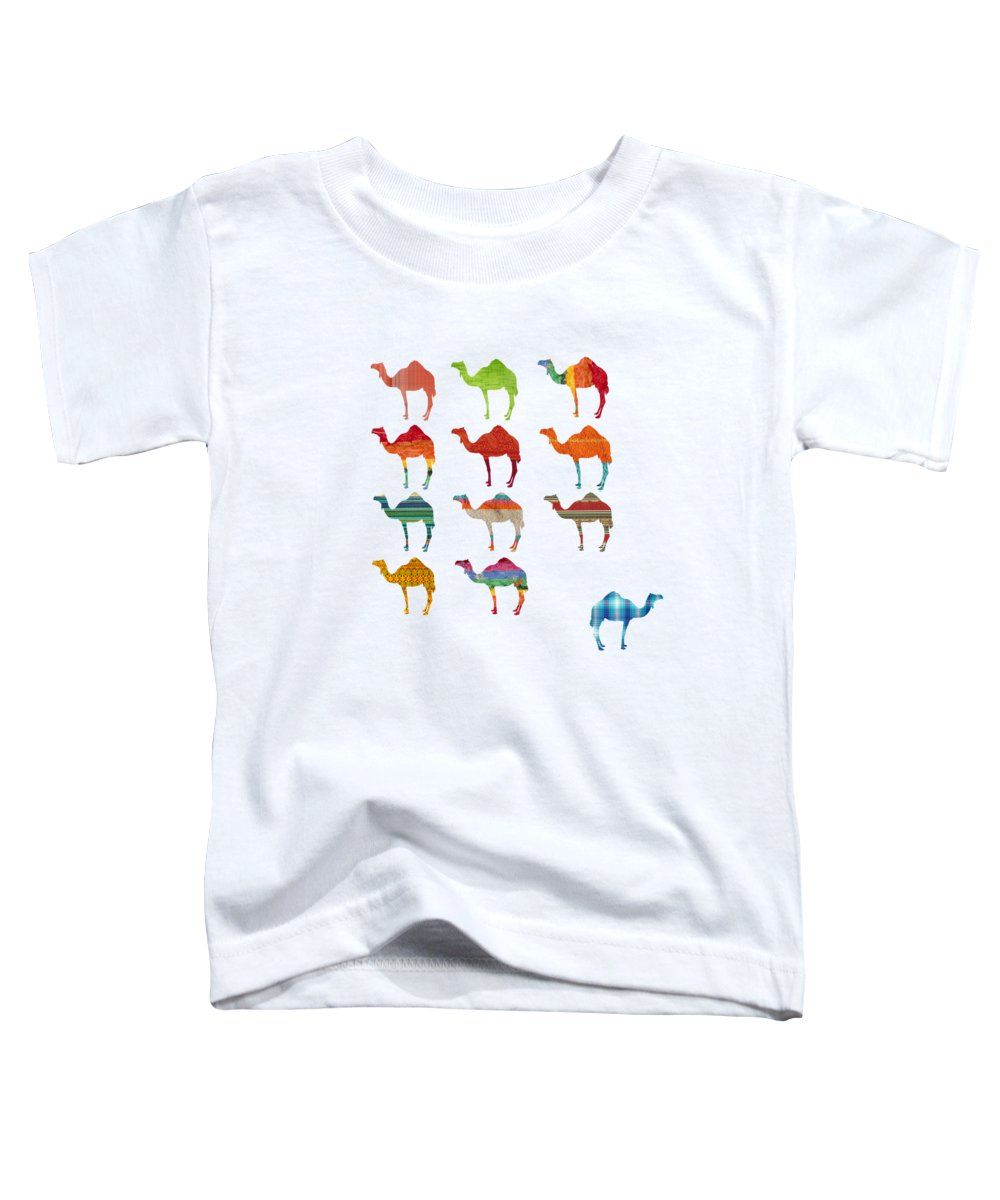 Camel Toddler T-Shirts