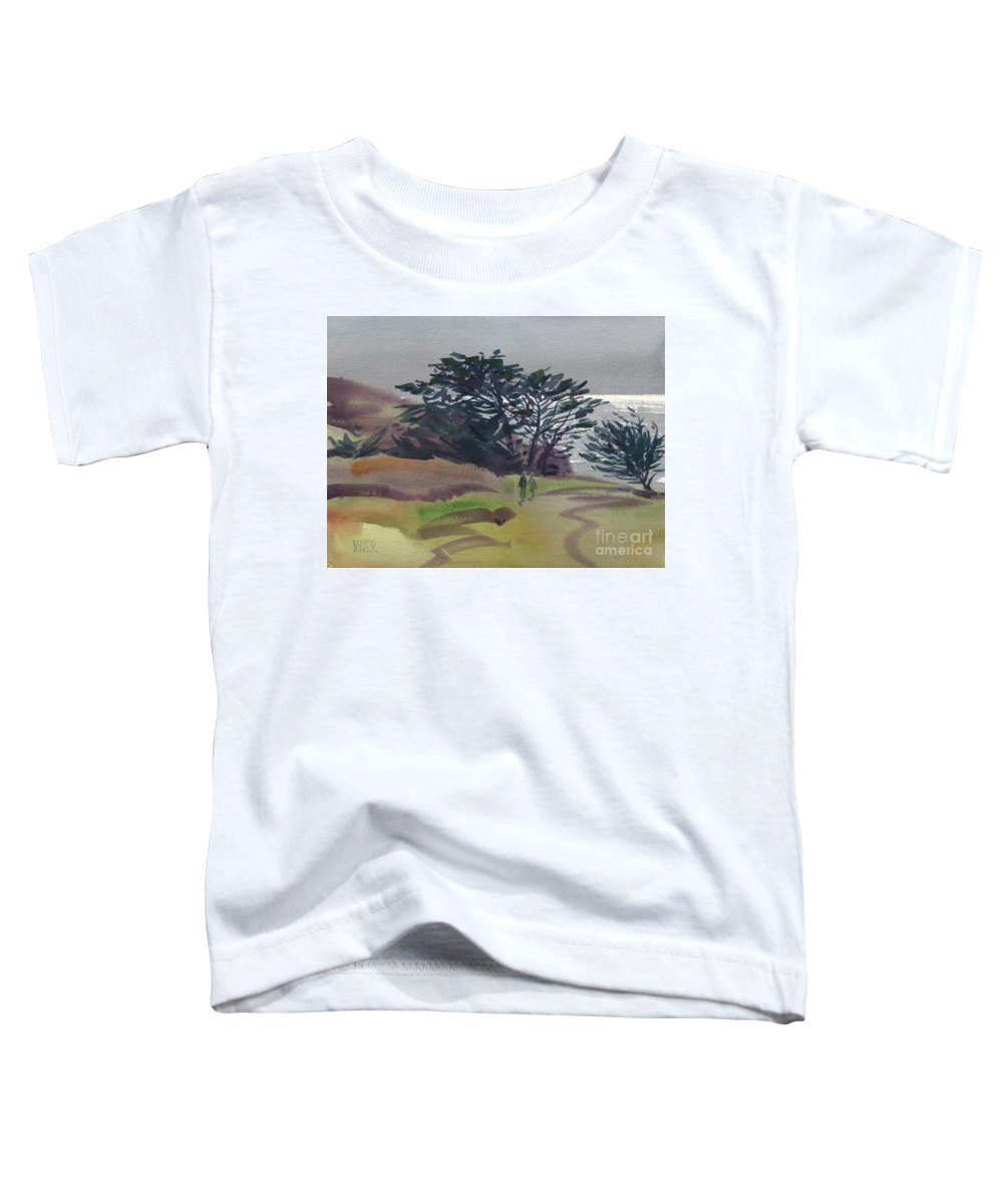 Plein Air Toddler T-Shirt featuring the painting Miramonte Point 1 by Donald Maier
