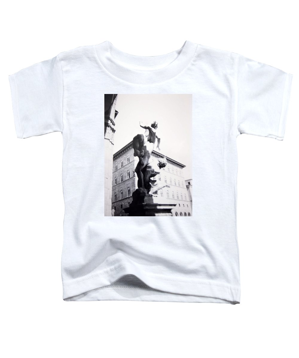 Florence Toddler T-Shirt featuring the photograph Palazzo Vecchio by Kurt Hausmann