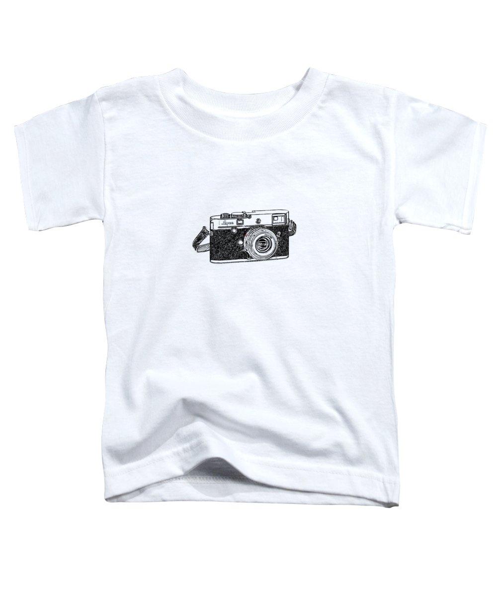 Vintage Camera Toddler T-Shirts