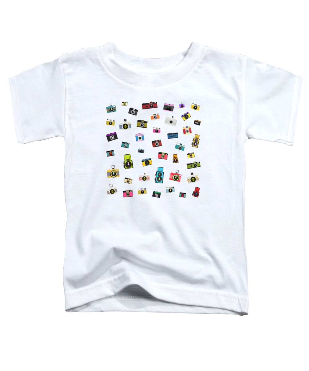 Bulbs Paintings Toddler T-Shirts