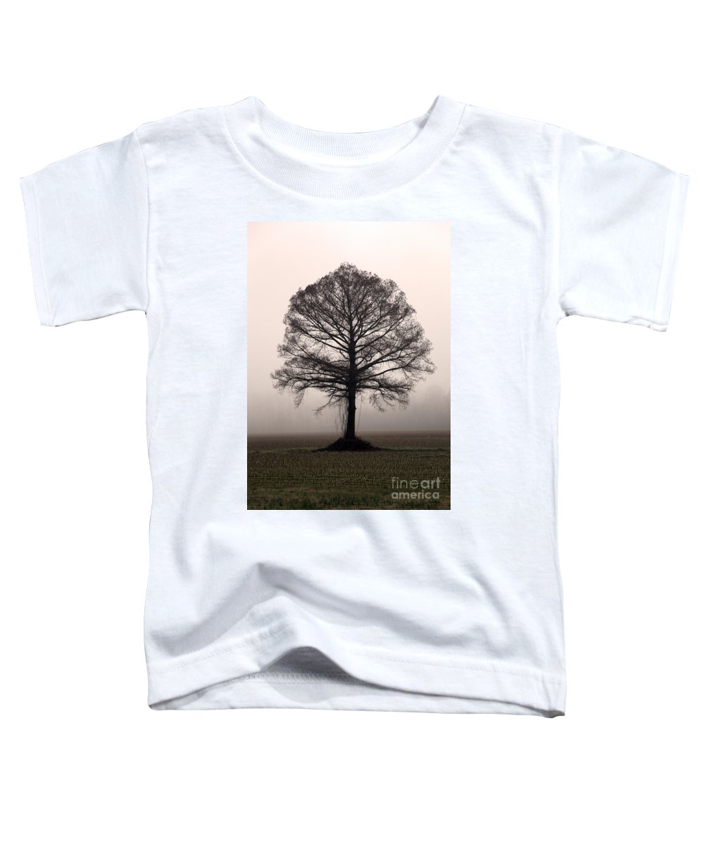 Trees Toddler T-Shirt featuring the photograph The Tree by Amanda Barcon
