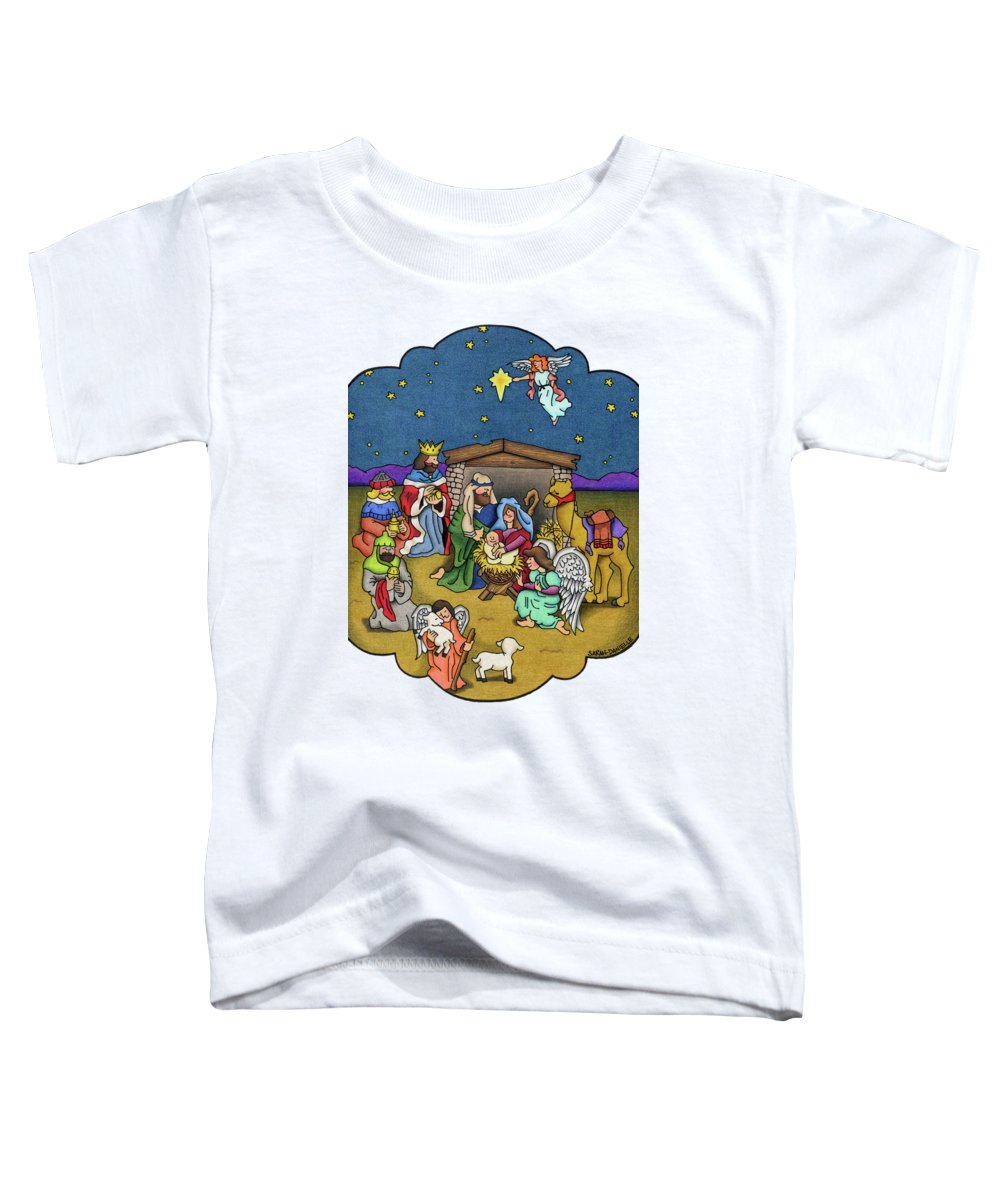 God Paintings Toddler T-Shirts