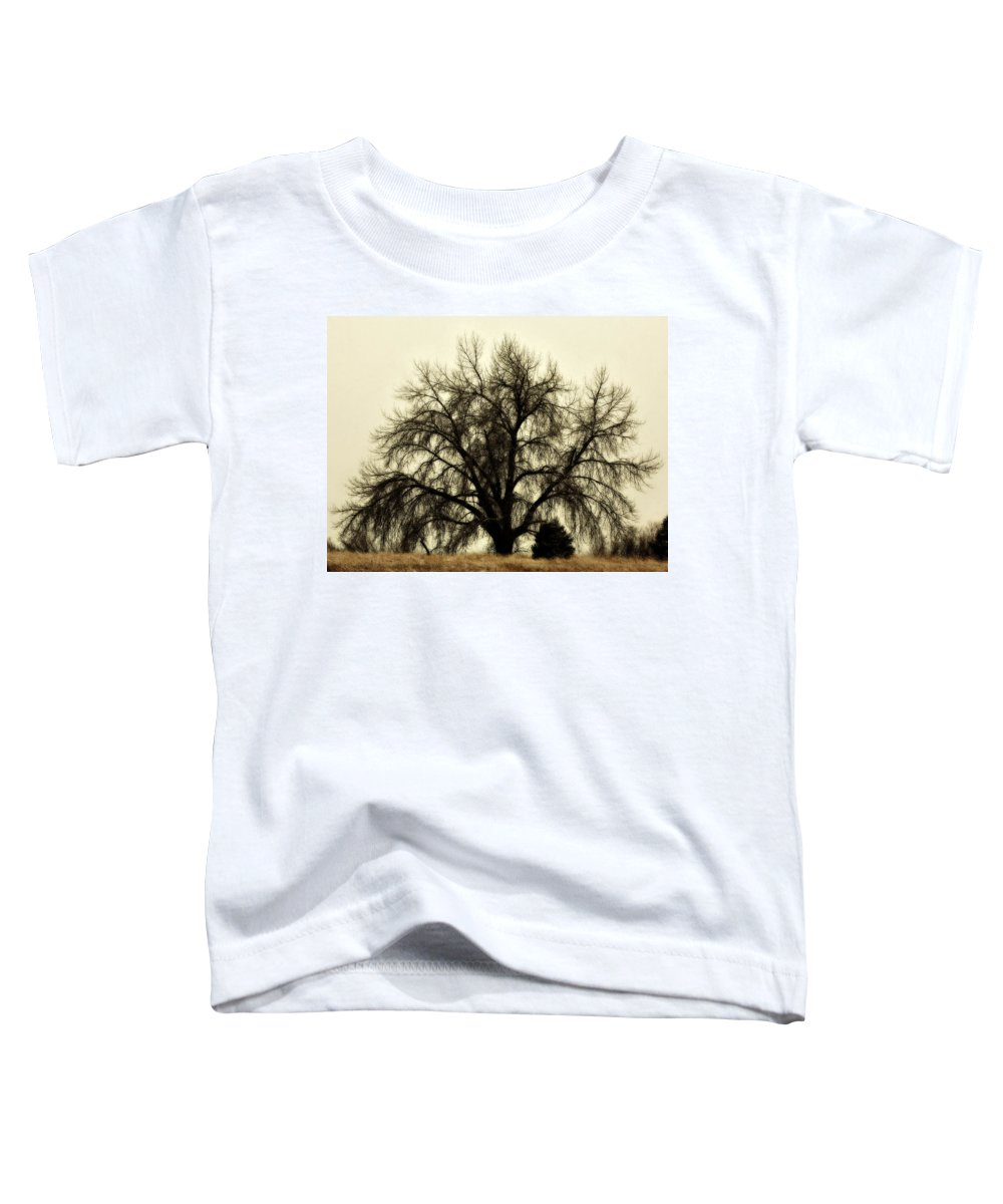 Tree Toddler T-Shirt featuring the photograph A Winter's Day by Marilyn Hunt