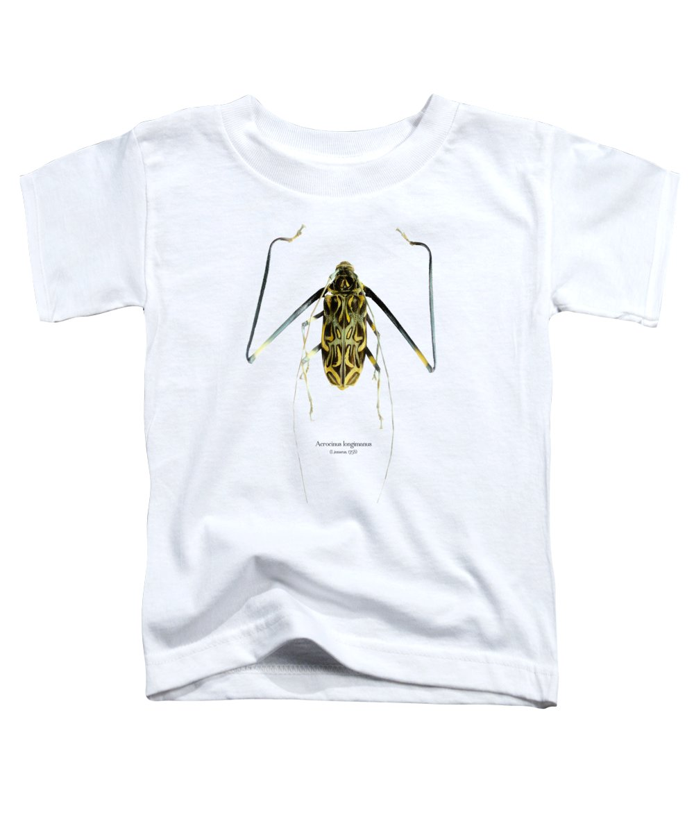 Nature Toddler T-Shirt featuring the digital art Acrocinus II by Geronimo Martin Alonso