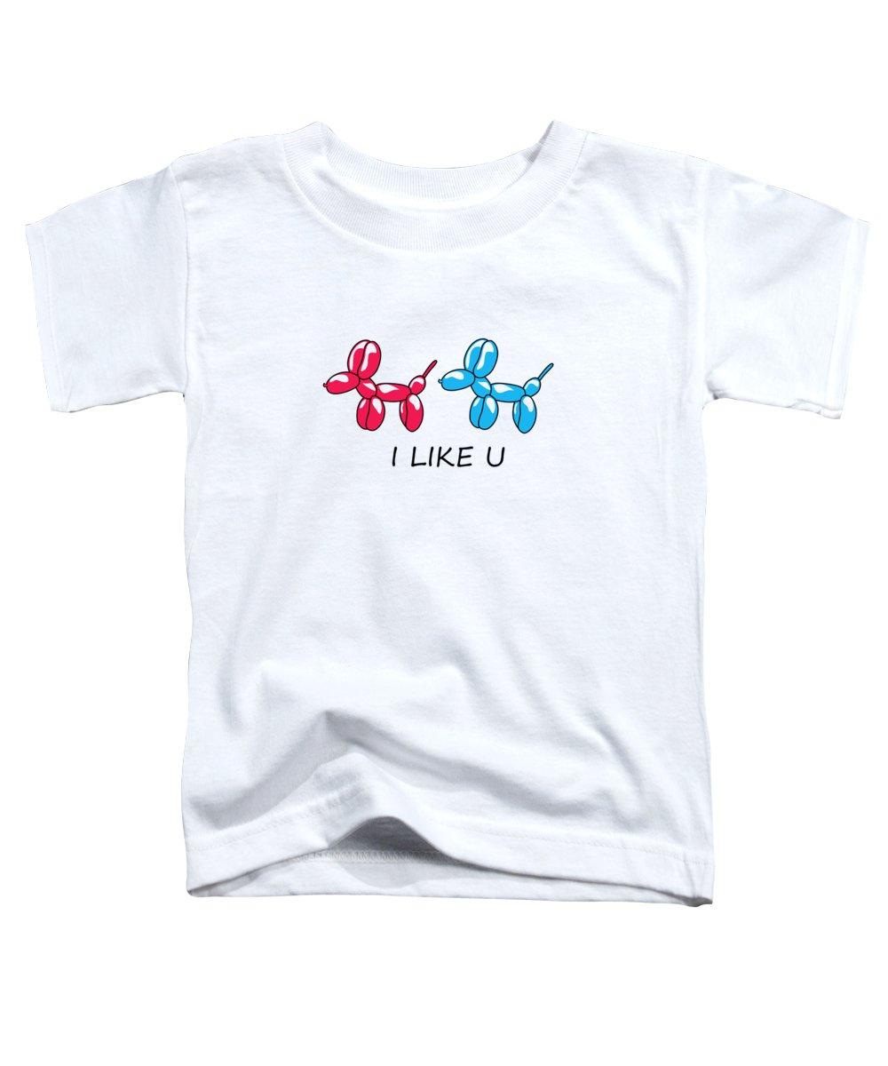 Balloons Toddler T-Shirts