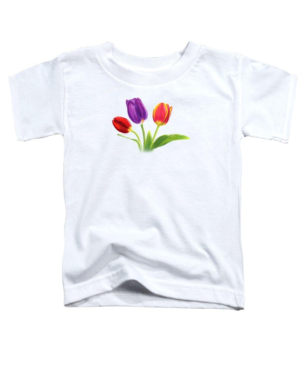 Tulip Toddler T-Shirts