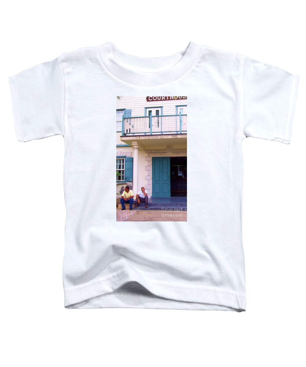 Building Toddler T-Shirt featuring the photograph Bad Day In Court by Debbi Granruth