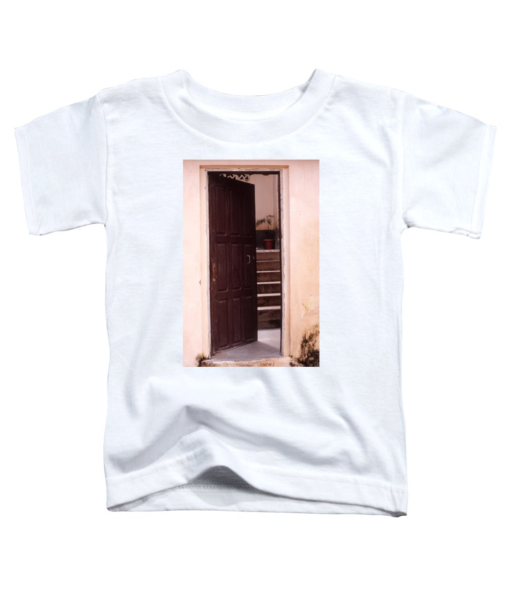 Bahia Toddler T-Shirt featuring the photograph Bahian Opening by Patrick Klauss