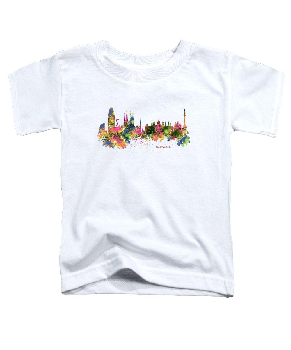 Barcelona Toddler T-Shirts