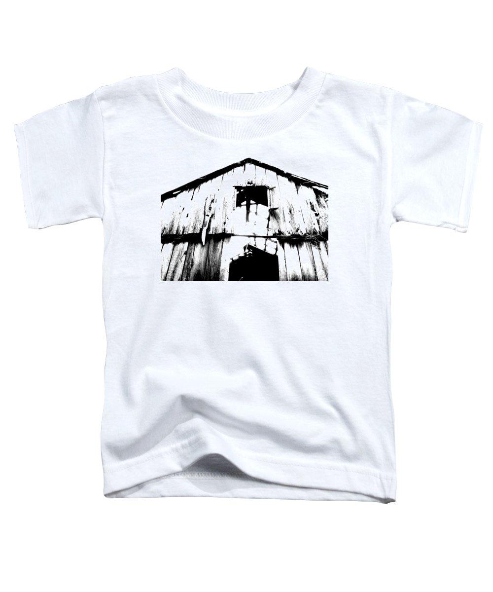 Barn Toddler T-Shirt featuring the photograph Barn by Amanda Barcon