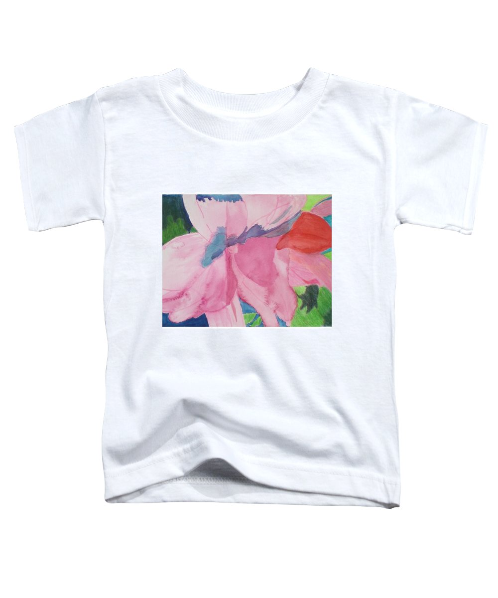 Flower Toddler T-Shirt featuring the painting Beautiful Azalea by Hal Newhouser