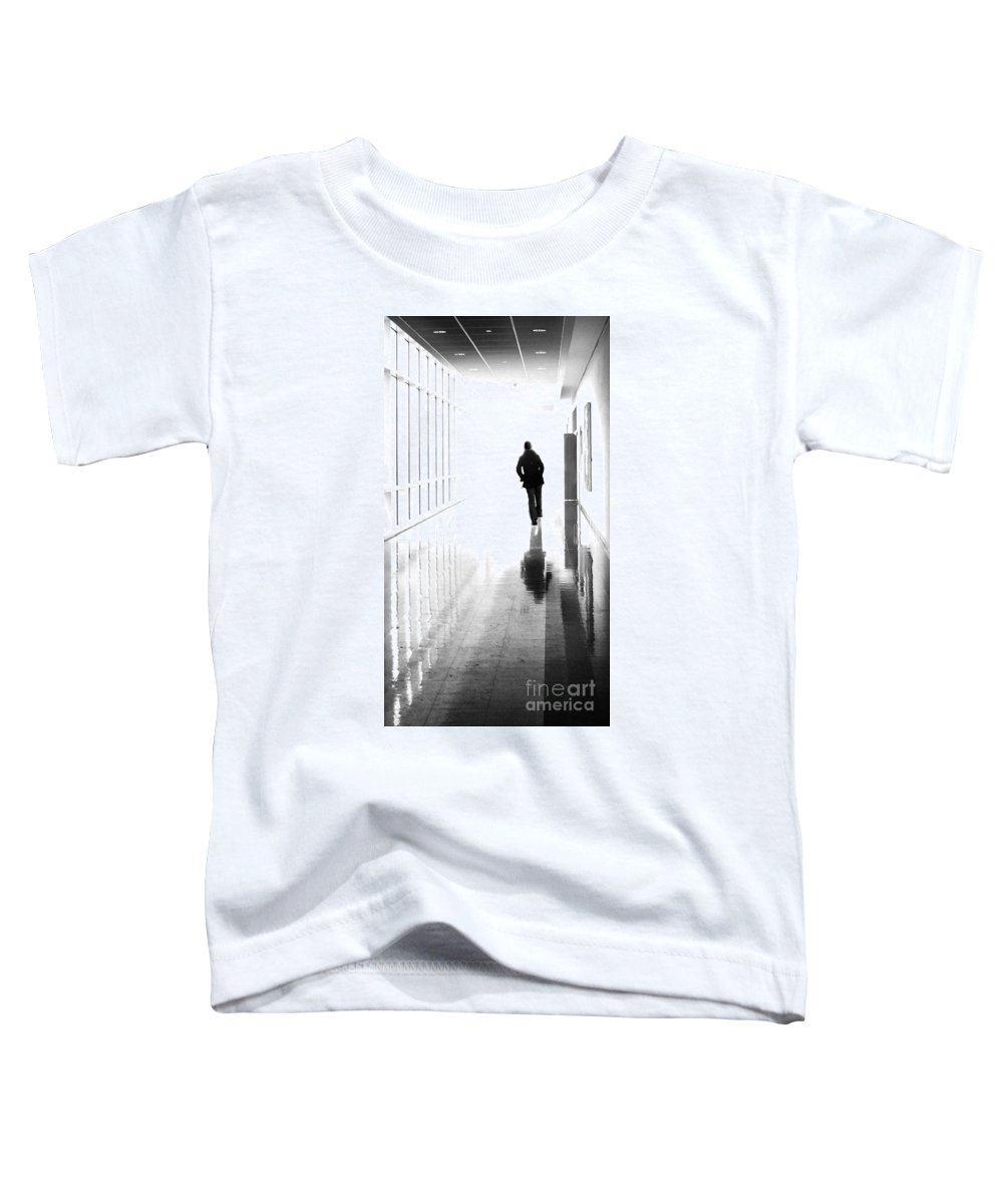 Dipasquale Toddler T-Shirt featuring the photograph Being Alone Doesnt Mean Youre Free by Dana DiPasquale