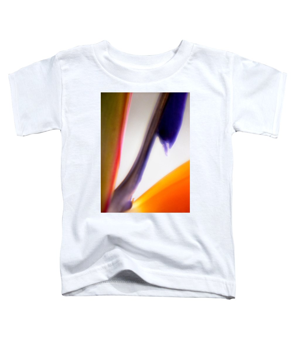 Macro Toddler T-Shirt featuring the photograph Bird Of Paradise by Lee Santa