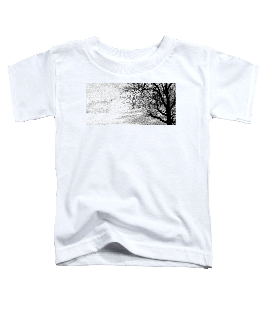 Sky Toddler T-Shirt featuring the photograph Black Rain by Ed Smith