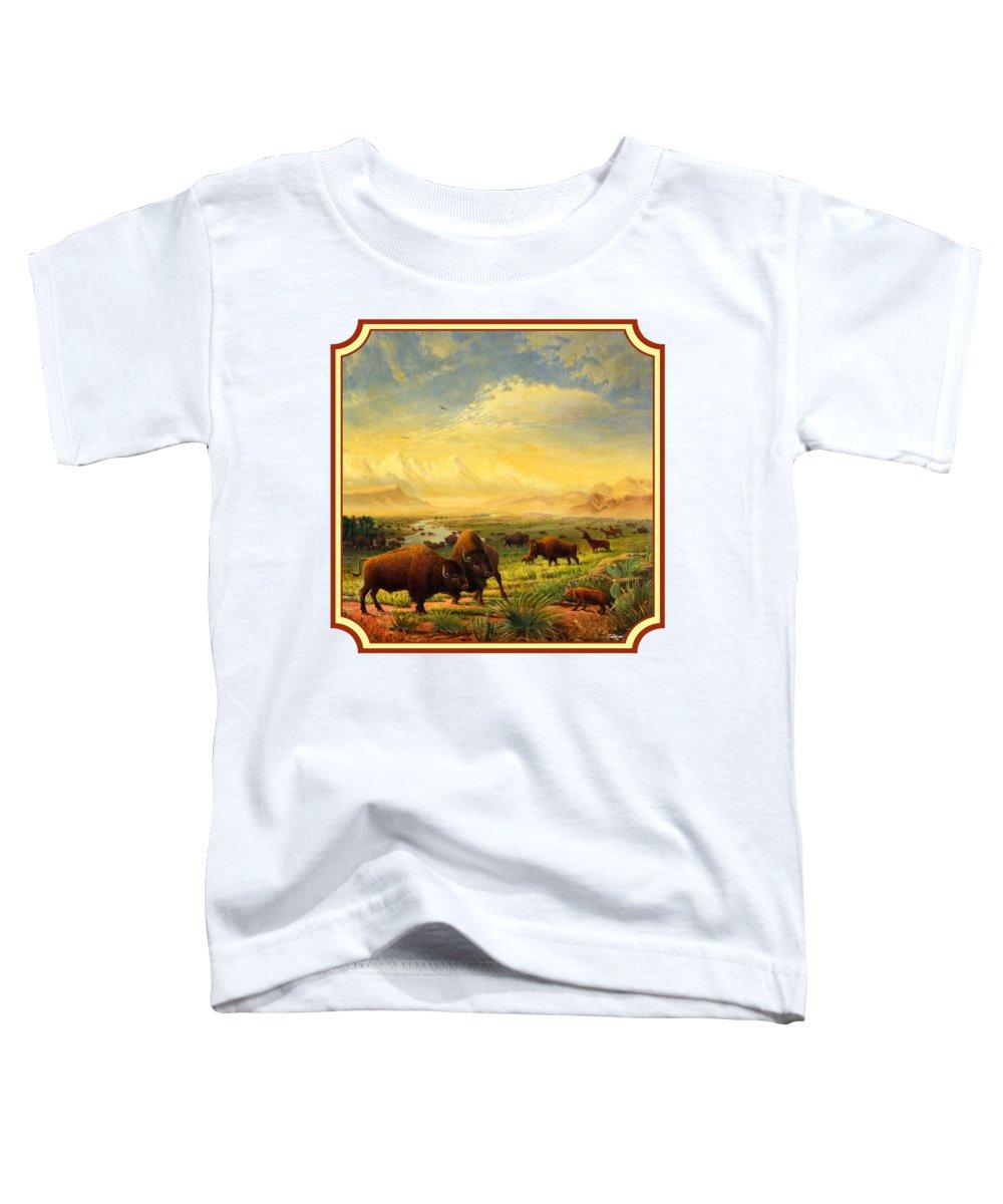 Montana Landscape Toddler T-Shirts