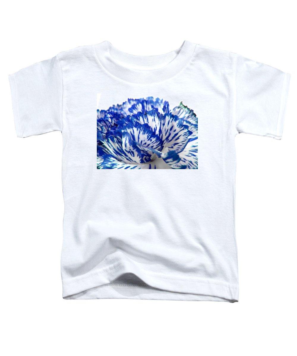 Carnation Toddler T-Shirt featuring the photograph Carnation by Daniel Csoka