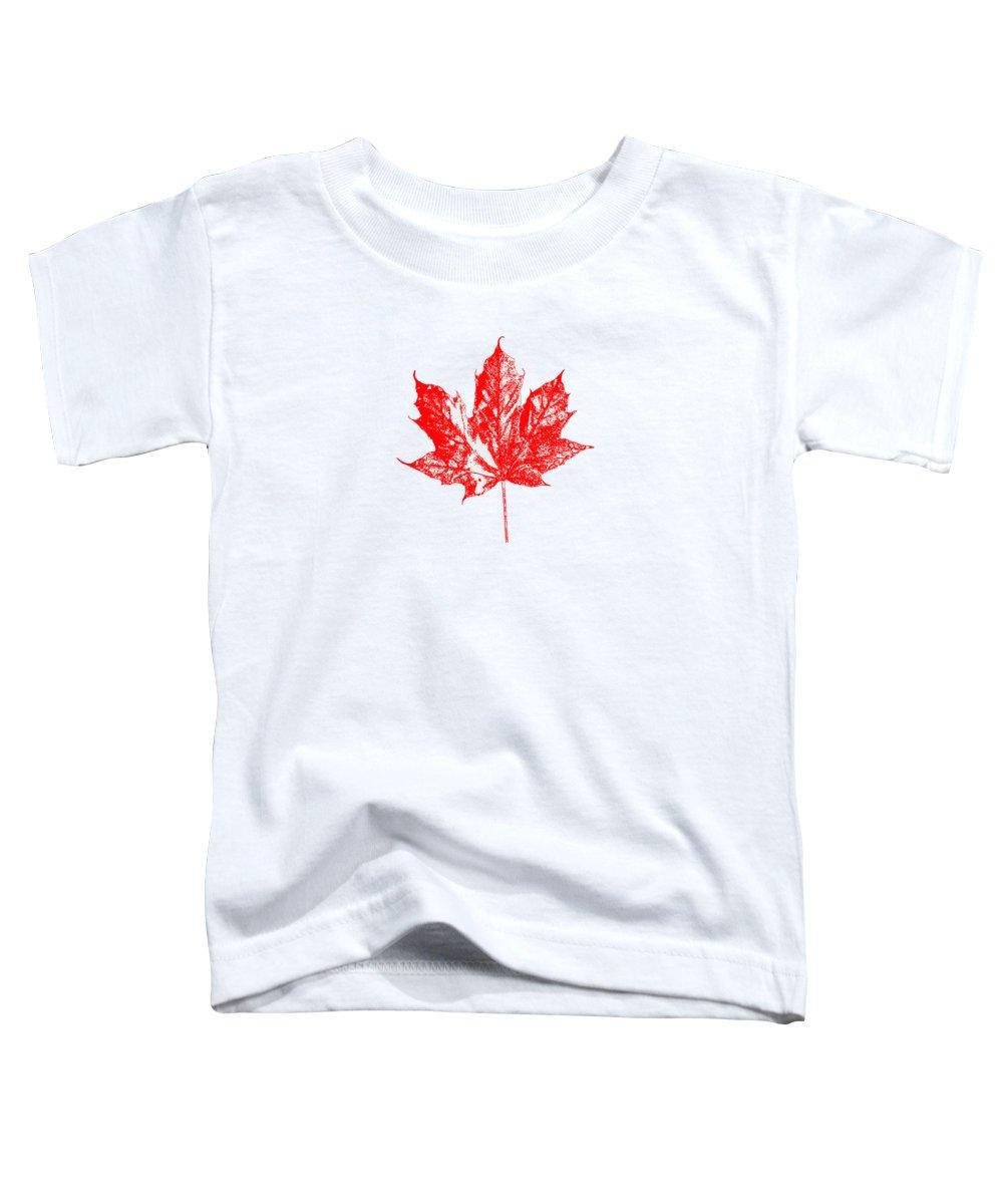 Canadian Toddler T-Shirts