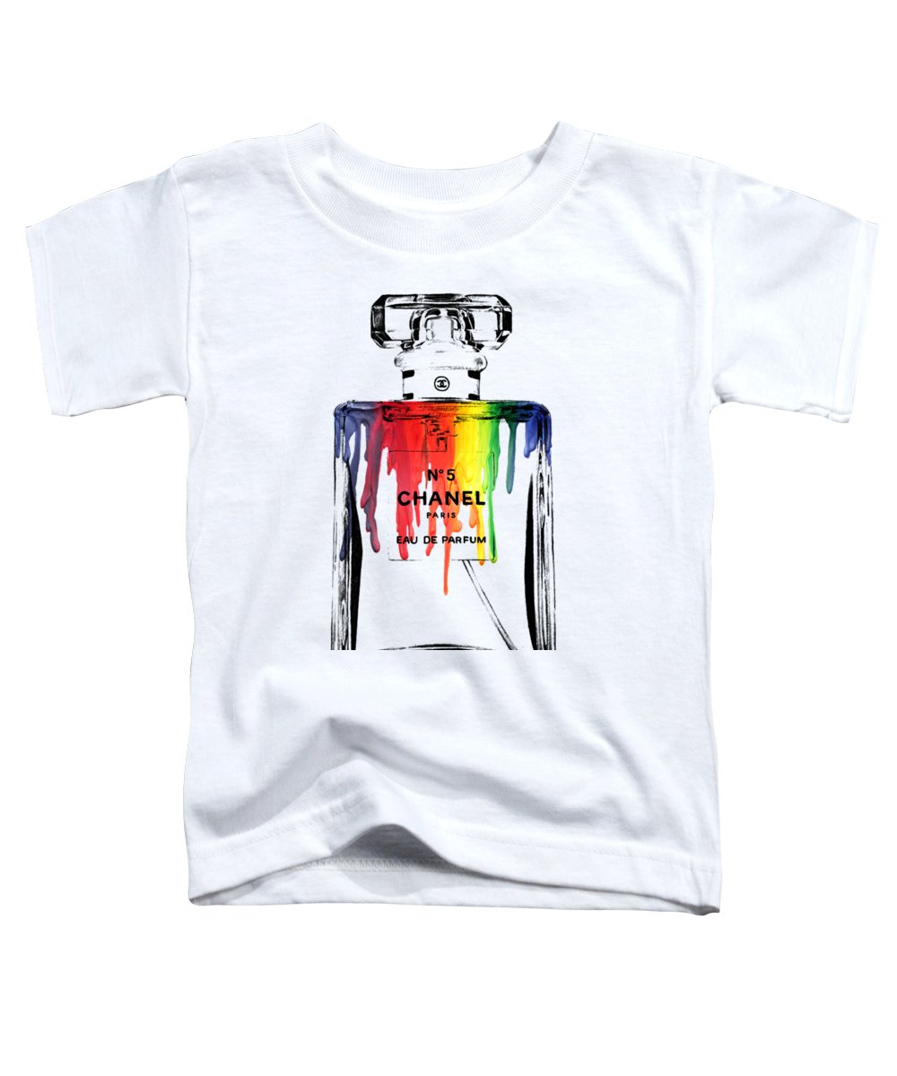 Bottle Toddler T-Shirt featuring the painting Chanel by Mark Ashkenazi