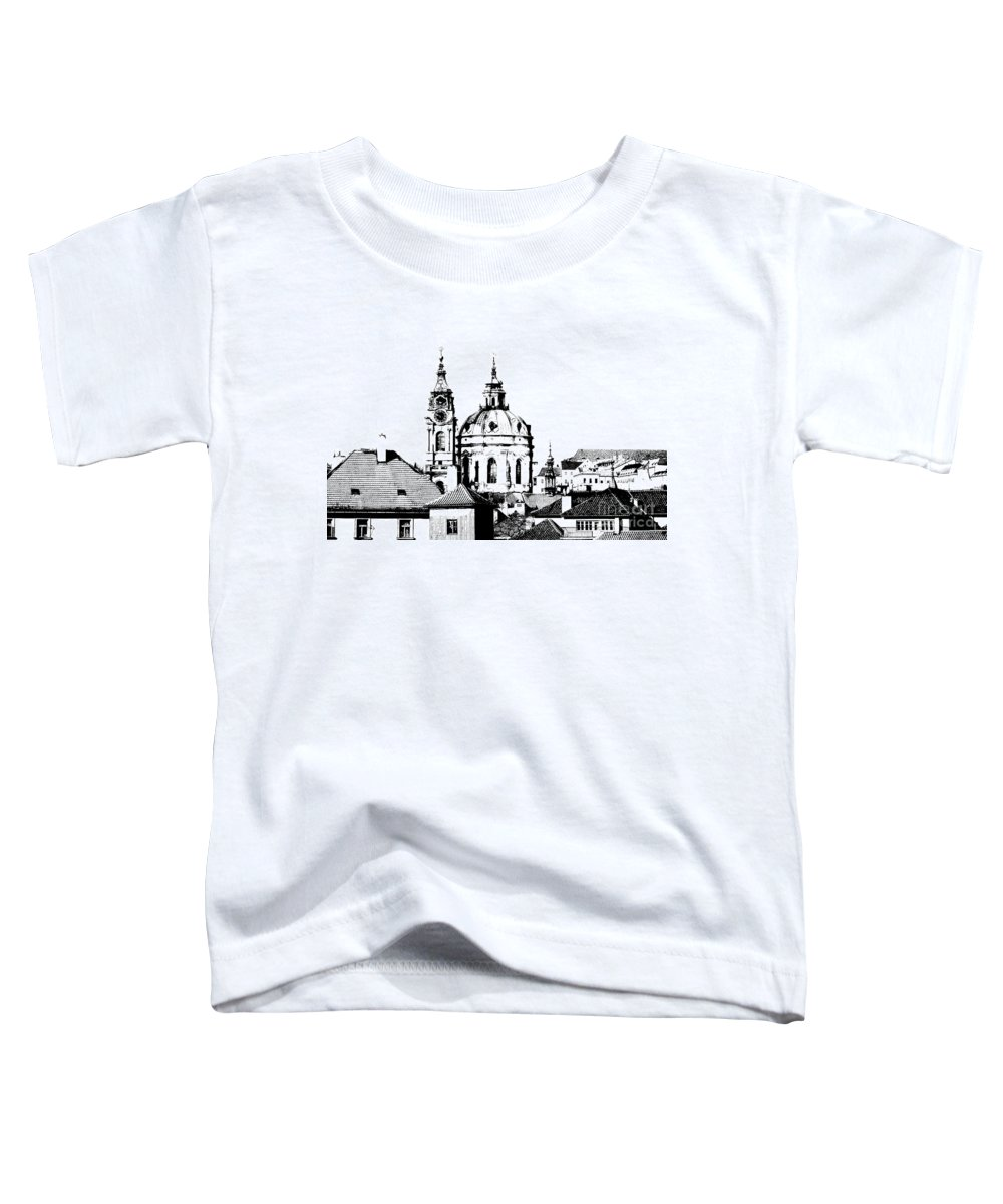 Cityspace Digital Art Toddler T-Shirts
