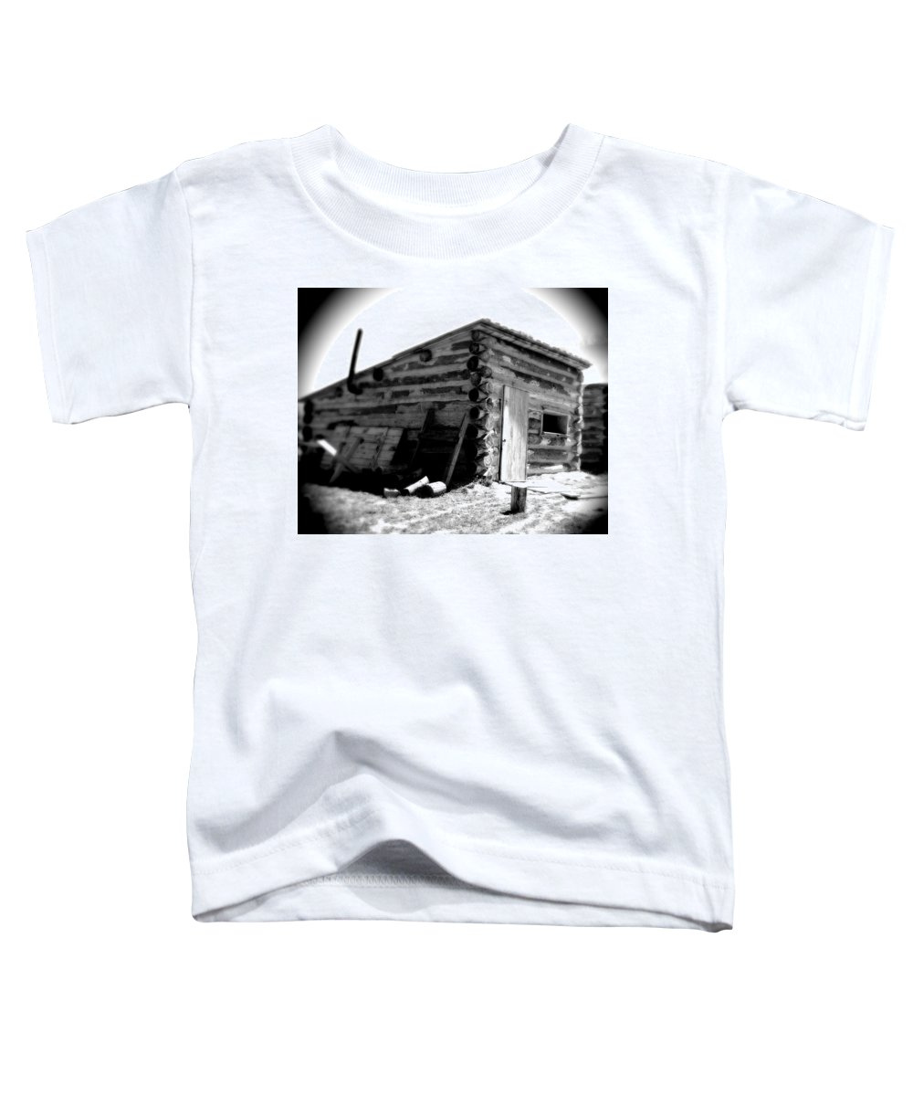 Army Toddler T-Shirt featuring the photograph Civil War Cabin 1 Army Heritage Education Center by Jean Macaluso