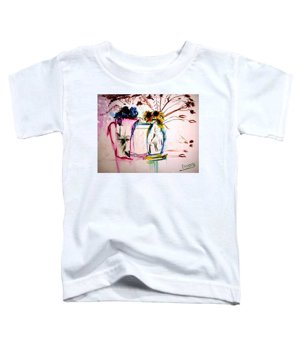 Still Life Toddler T-Shirt featuring the painting Clear by Jack Diamond