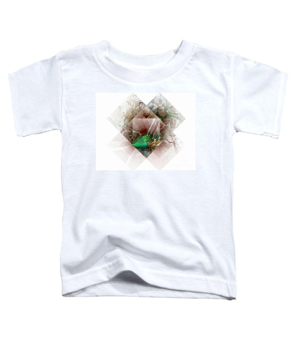 Digital Art Toddler T-Shirt featuring the digital art Coastal Memoirs by Amanda Moore