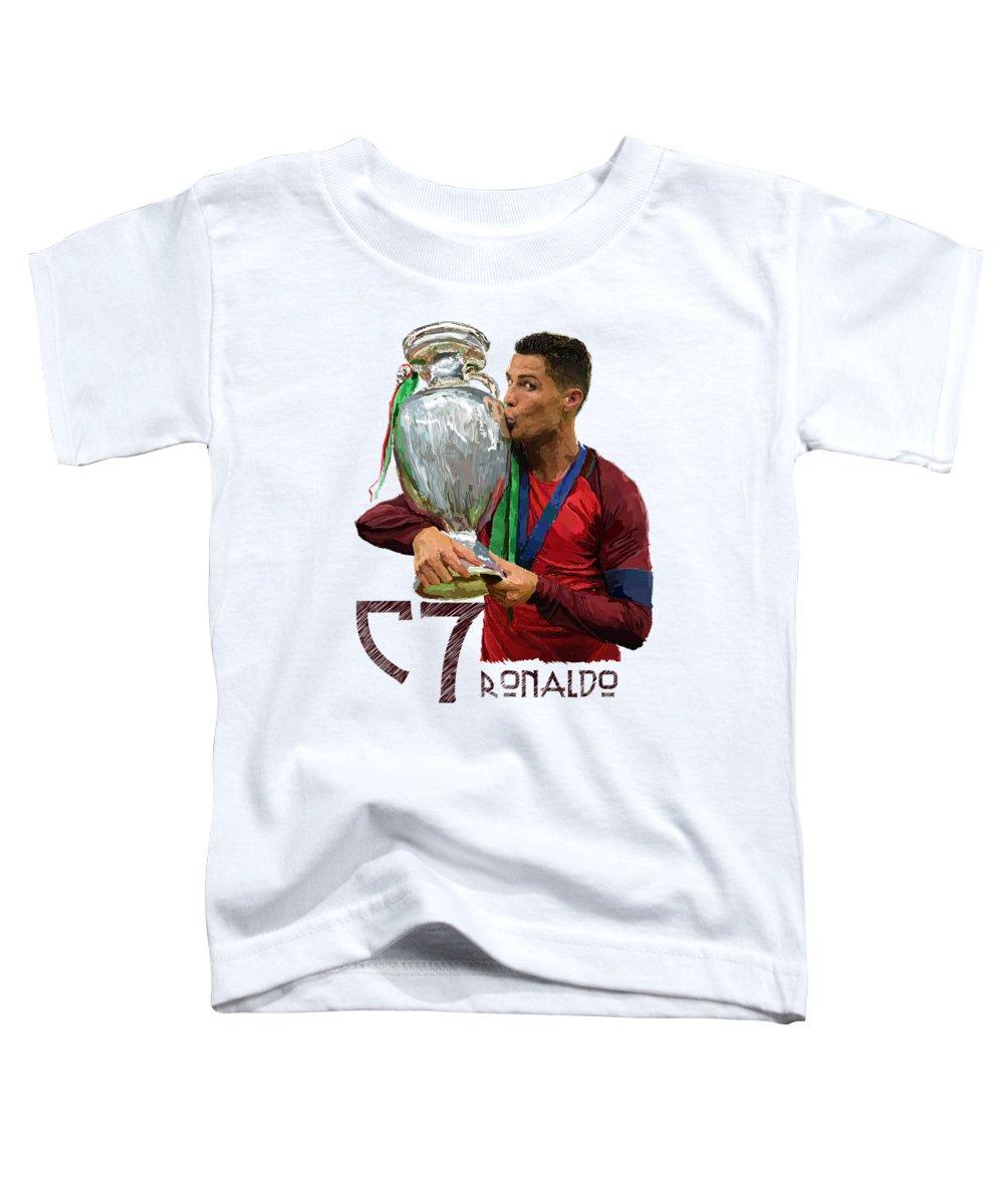 Cristiano Ronaldo Toddler T-Shirts