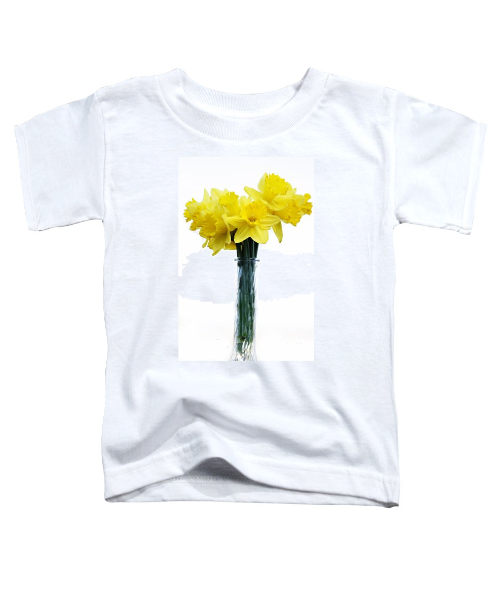 Daffodil Toddler T-Shirt featuring the photograph Daffodil by Marilyn Hunt