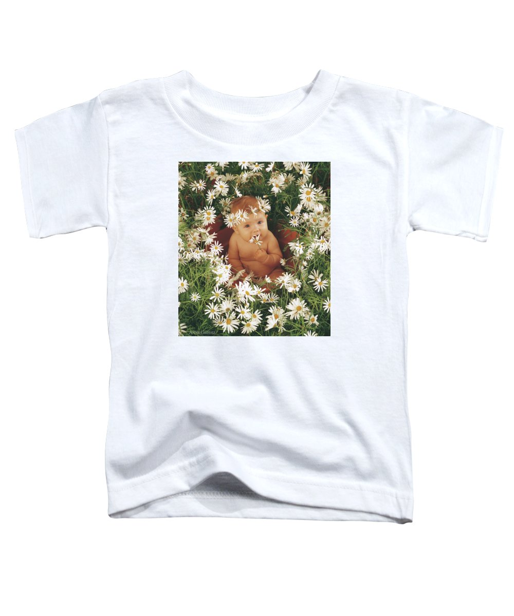 Daisies Toddler T-Shirt featuring the photograph Daisies by Anne Geddes