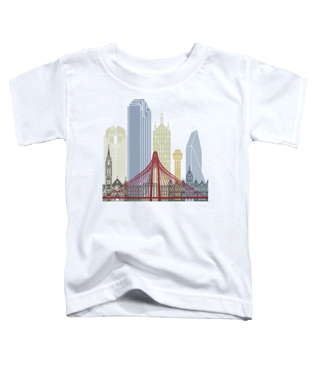 Dallas Skyline Toddler T-Shirts