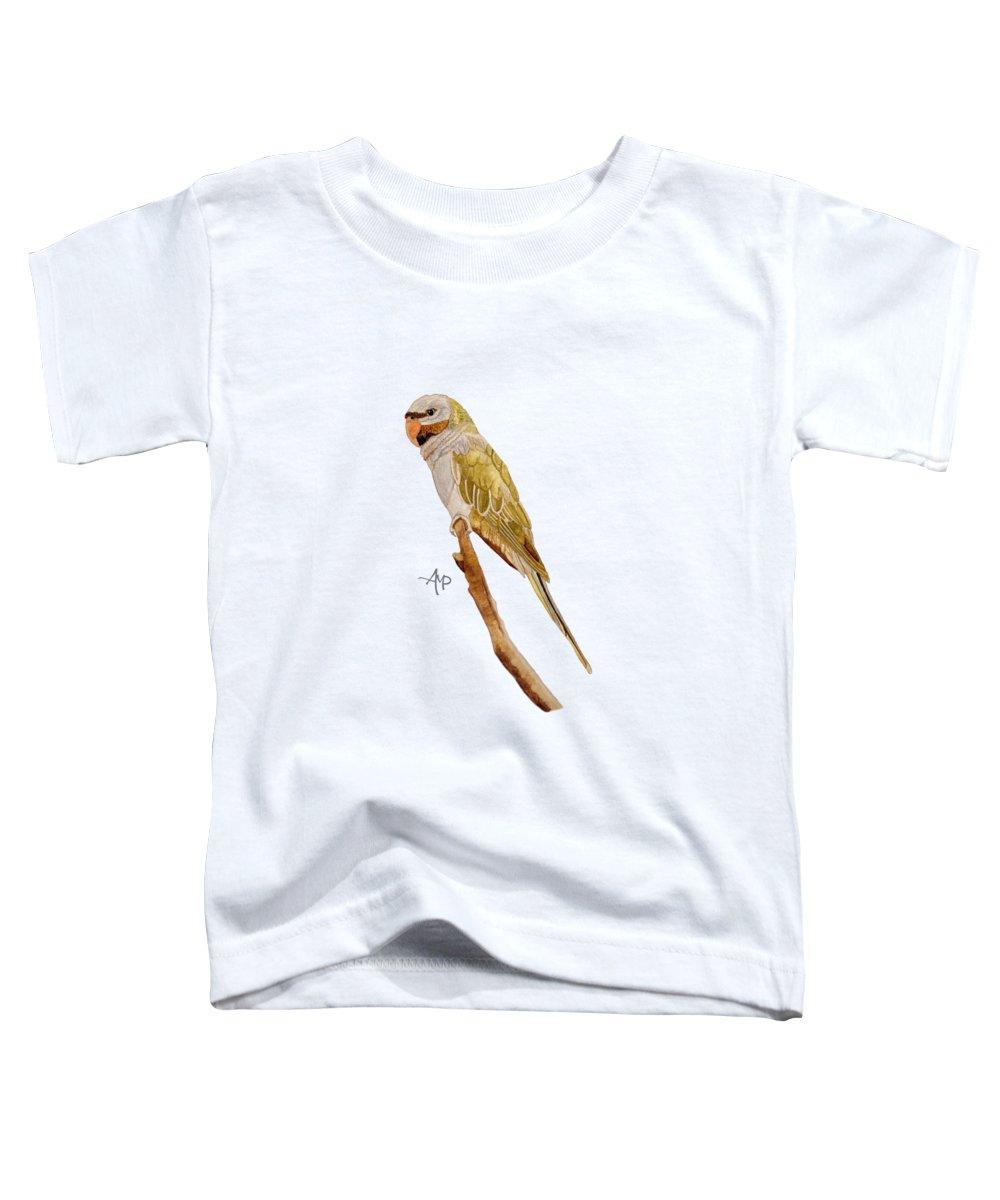 Parakeet Toddler T-Shirts