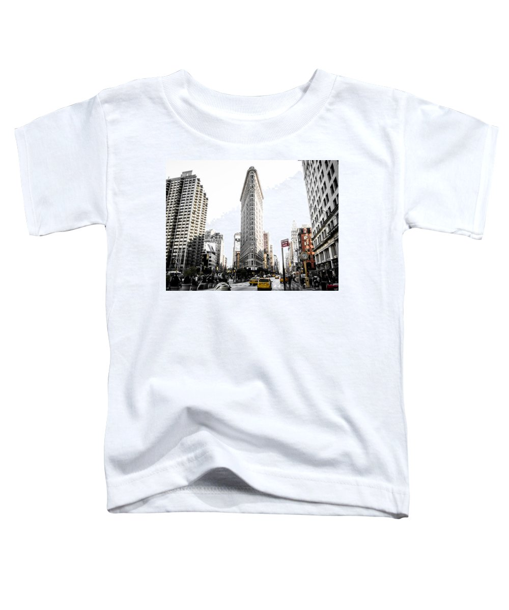 Street Toddler T-Shirt featuring the photograph Desaturated New York by Nicklas Gustafsson