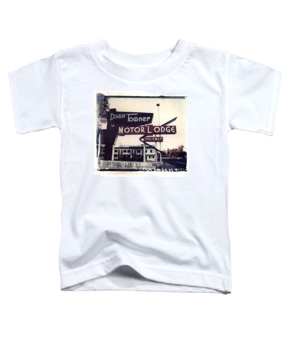 Landscape Toddler T-Shirt featuring the photograph Down Towner by Jane Linders