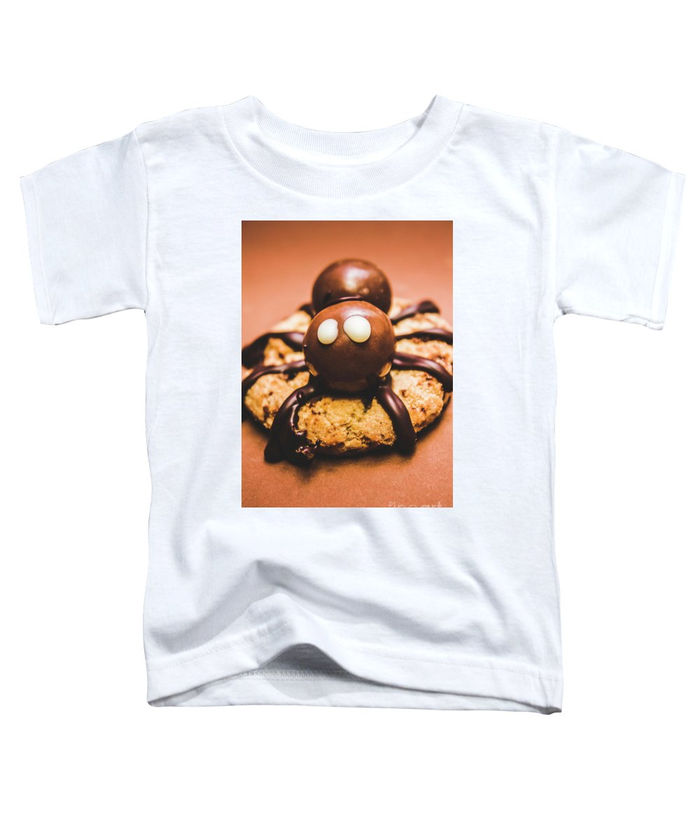 Bake Toddler T-Shirt featuring the photograph Eerie Monsters. Halloween Baking Treat by Jorgo Photography - Wall Art Gallery