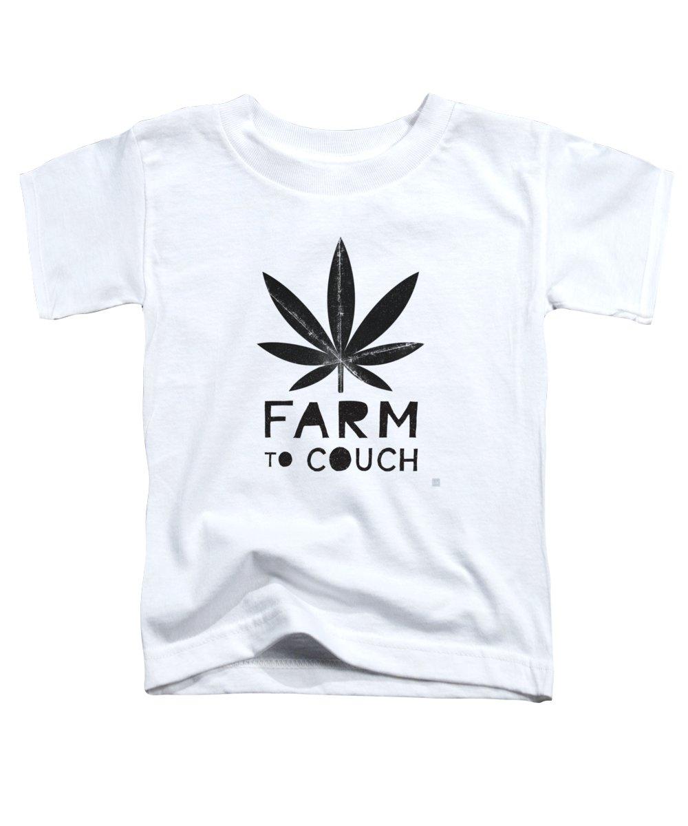Leaf Mixed Media Toddler T-Shirts