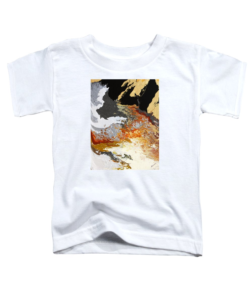 Fusionart Toddler T-Shirt featuring the painting Fathom by Ralph White