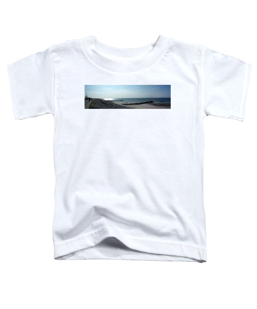 Irish Toddler T-Shirt featuring the photograph Galway Bay At Salt Hill Park Galway Ireland by Teresa Mucha
