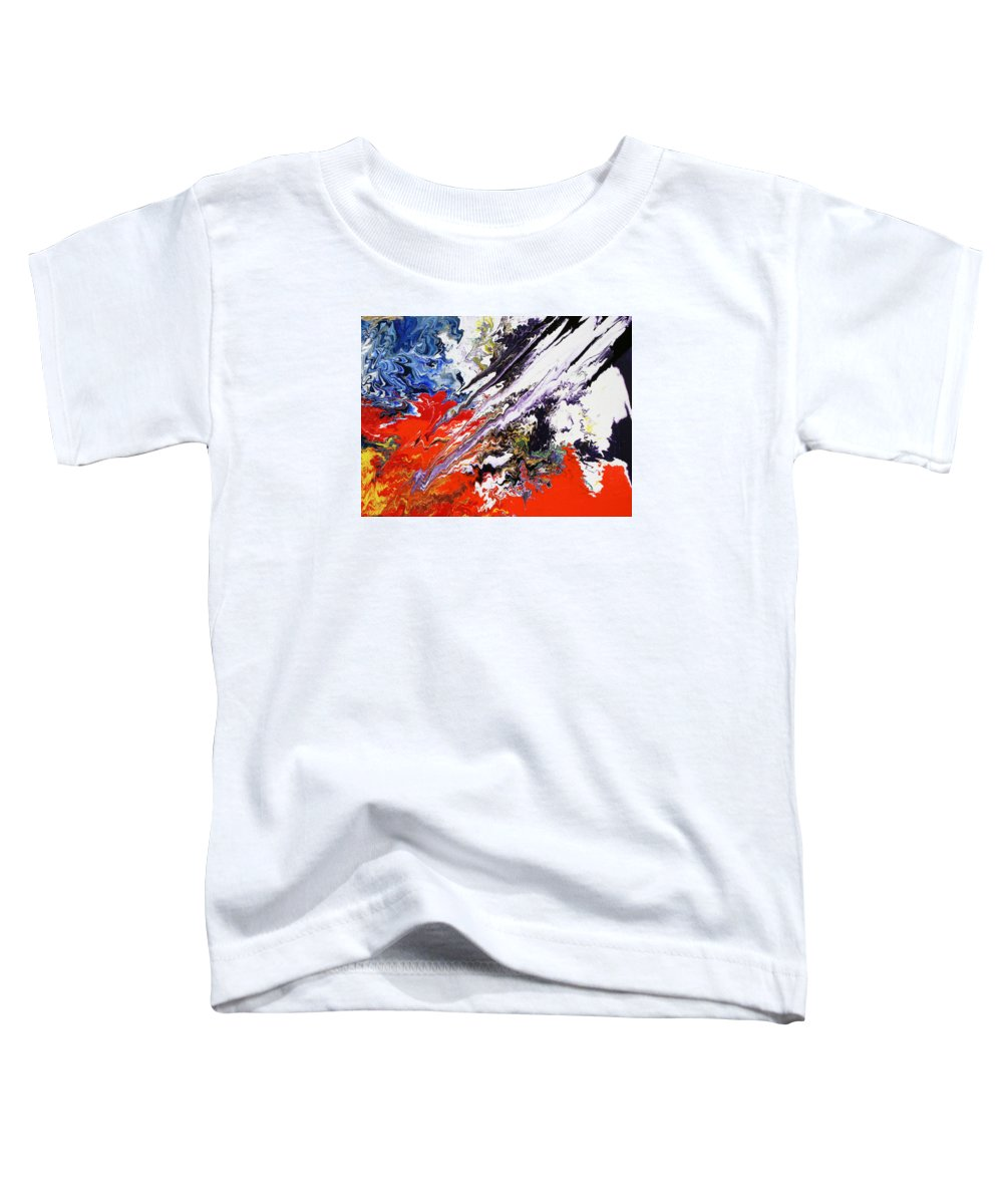 Fusionart Toddler T-Shirt featuring the painting Genesis by Ralph White