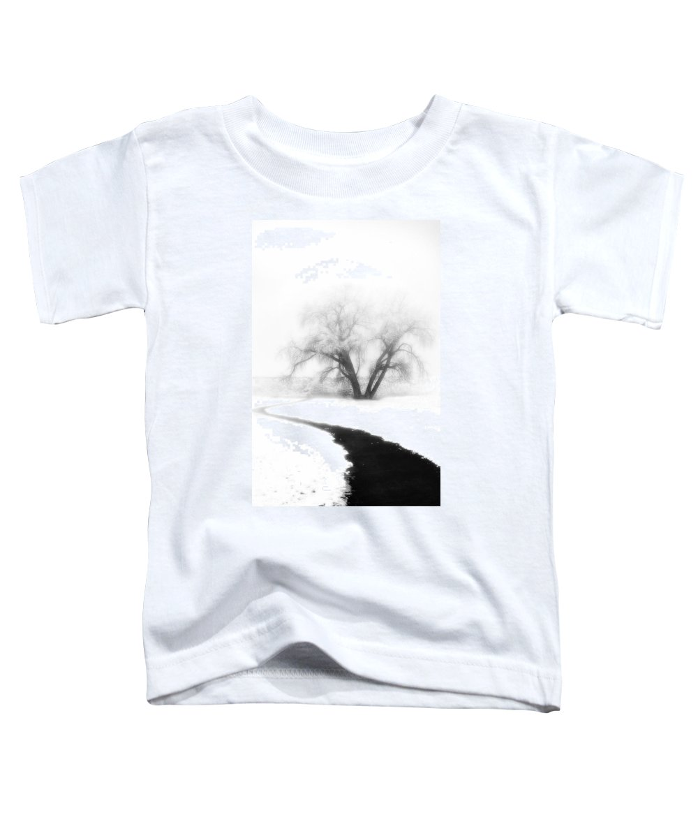 Tree Toddler T-Shirt featuring the photograph Getting There by Marilyn Hunt